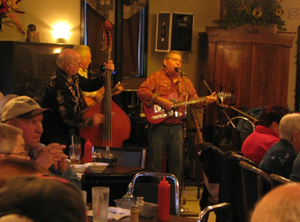 Lynn and Bob Tremblay at the Top End Restaurant, 2012