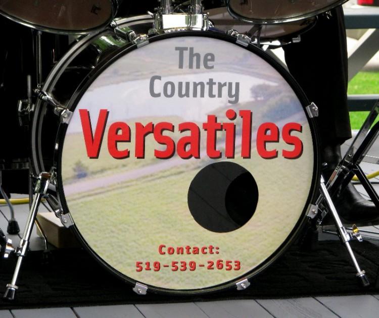 The Country Versatiles drum kit