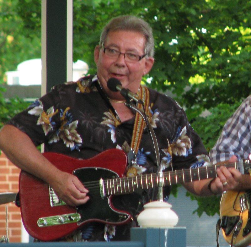 Bob Tremblay plays a mean guitar