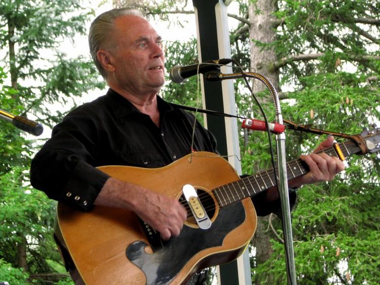 Gerald Davidson playing guitar