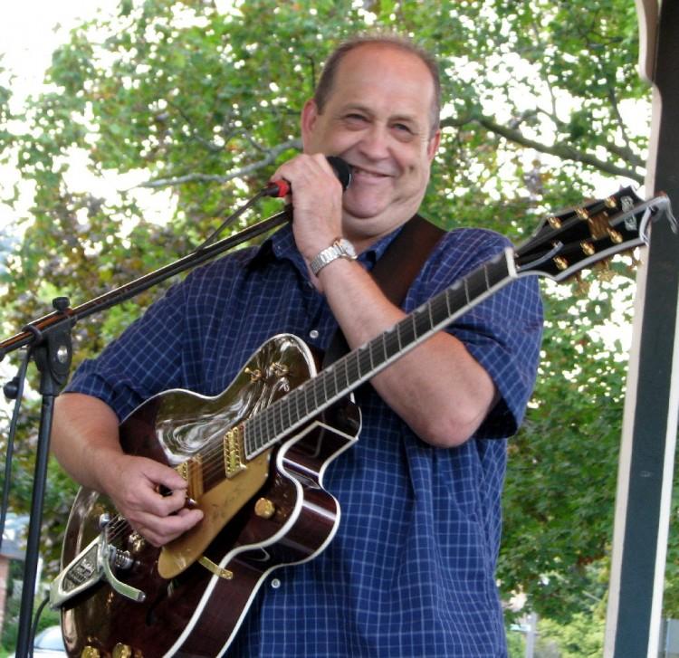 Ernie Bessey in Gore Park, 2013