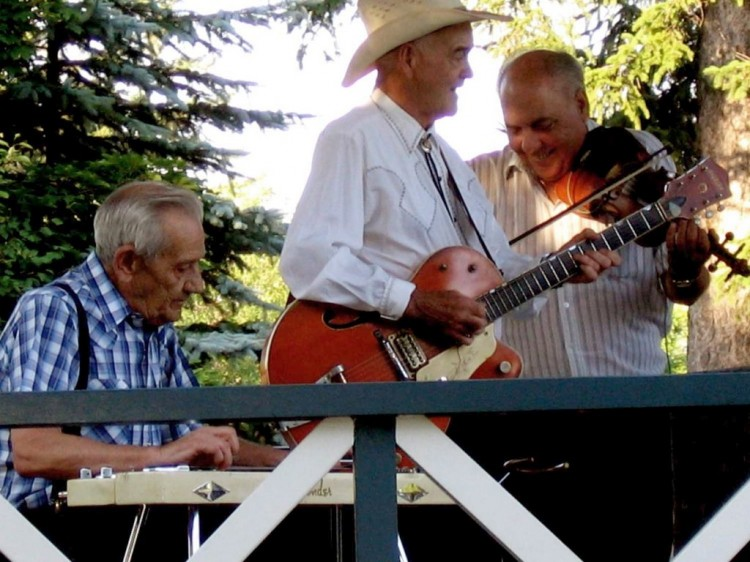 Jamboree Reunion Band - with Hugh Elder and Wayne Riehl