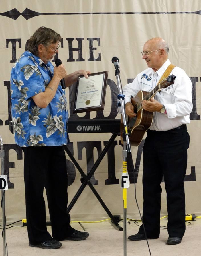 Bob Everard and Lynn Russwurm