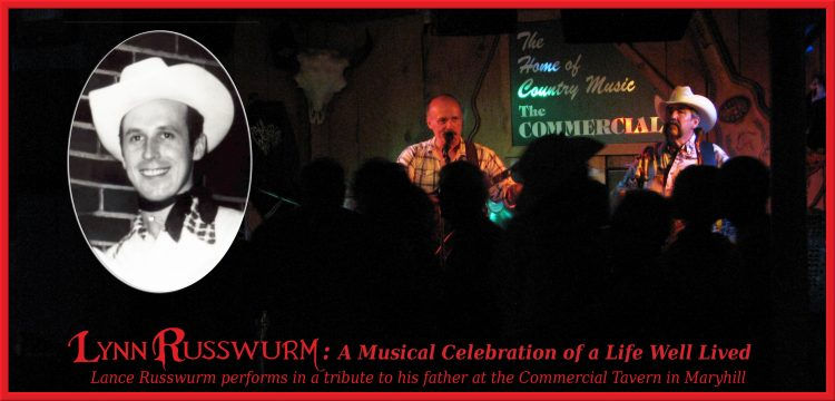 Lance Russwurm performs at A Musical Celebration of a Life Well Lived